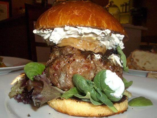 Sweet and Savories burger