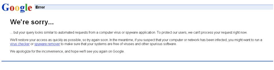 Google Adwords Forbidden